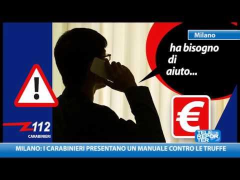 Milano: i Carabinieri presentano un manuale contro le truffe