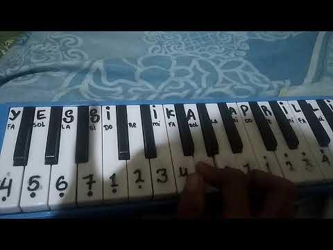 """Not lagu gambang suling """"pianika"""""""
