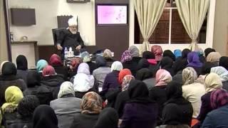 Gulshan-e-Waqfe Nau Nasirat, 31 Dec 2011, Educational class with Hadhrat Mirza Masroor Ahmad(aba)