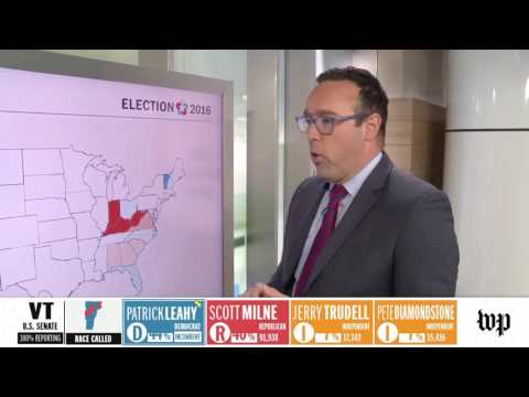Washington Post Election 2016 graphic reels