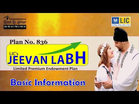 Jeevan Labh 836 (Basic Information) By- Ritesh Lic Advisor