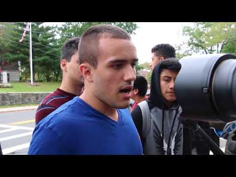 Cliffside Park students protest 'Speak American' comment