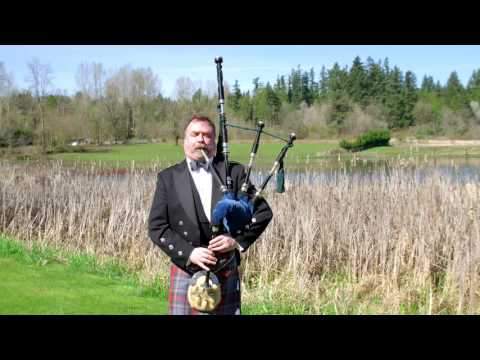 Tyrone Heade, Bagpipe Player | Great Highland Bagpipe Medley - Bagpipe Music