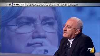 "Vincenzo De Luca: ""Rosy Bindi impresentabile in tutti i sensi"""
