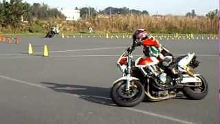 MotoGymkhana 2011 DUNLOP Round4 CB1300SF(ぴの) Heat2