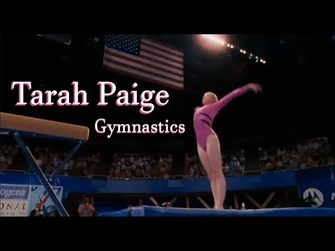 Tarah Paige Gymnastics Demo