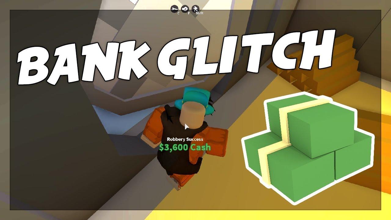 Roblox Jailbreak Bank Glitch 2018 New Youtube