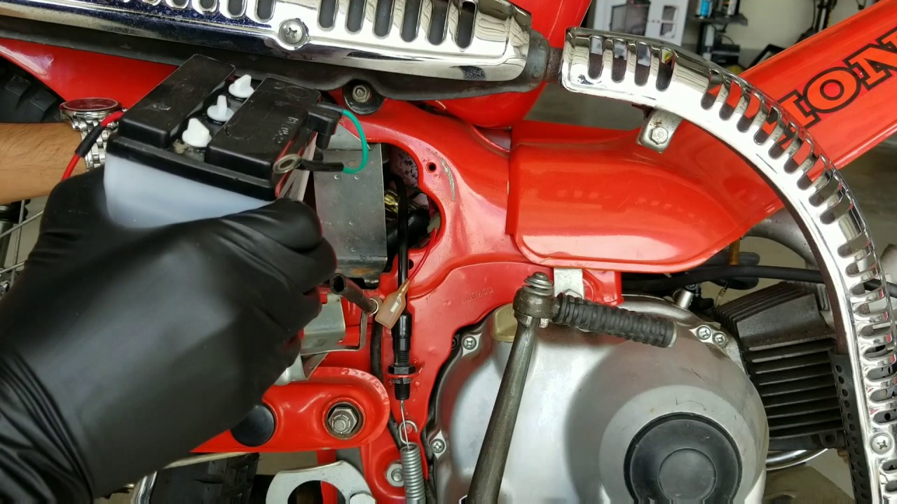 small resolution of 1981 honda trail ct110 how to replace the battery