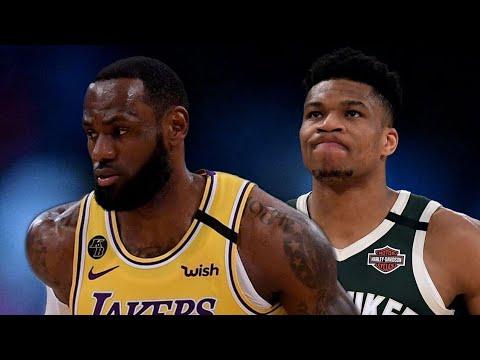 Los Angeles Lakers vs Milwaukee Bucks 113-103 Full Game ...