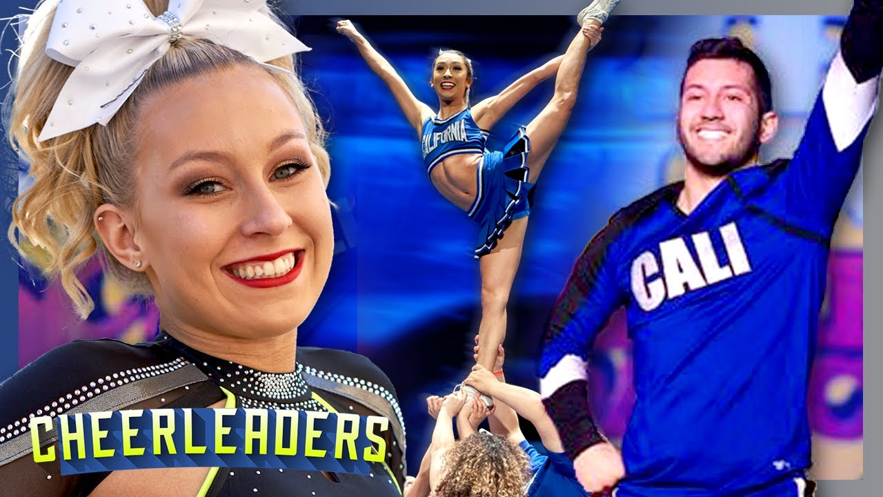 Download Cali SMOED's Top 6 Cheer routines EVER!   Cheerleader Highlights