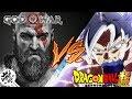 GOKU VS KRATOS RAP - IVANGEL MUSIC | DRAGON BALL SUPER VS GOD OF WAR