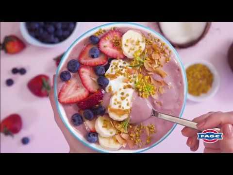 Greek Yogurt Smoothie Bowl With Honey, Fruit, And Coconut Recipe