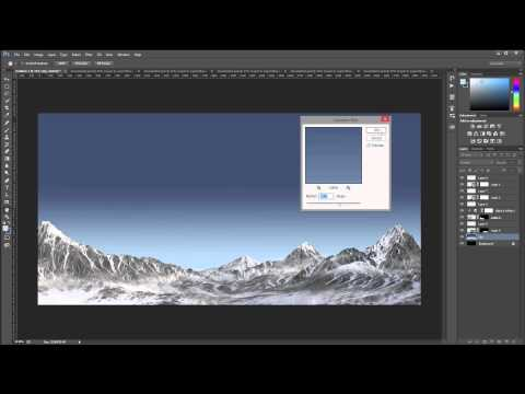 Planetscape compositing landscape part 2 of 3