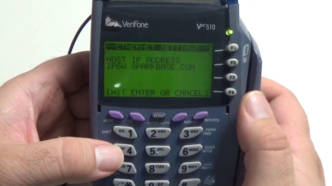 Verifone Vx520 Password - 0425