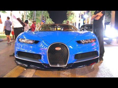 Carspotting à Cannes : La 1ère Bugatti CHIRON Livrée au Monde!!