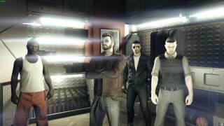 Неудачные дубли с побегом Рашковского из тюрьмы [GTA Online Heists] [PC]