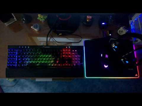 Corsair RGB Audio Visualizer - YouTube