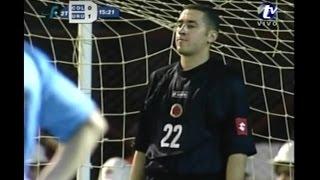 El complicado Debut de David Ospina en la Selección Colombia 07/02/2007