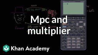 MPC and multiplier   Macroeconomics   Khan Academy