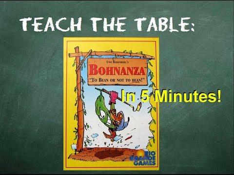 How to play Bohnanza in 5 Minutes