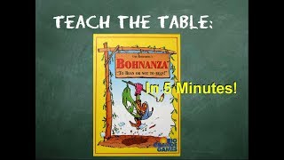 YouTube video How to play Bohnanza in 5 Minutes