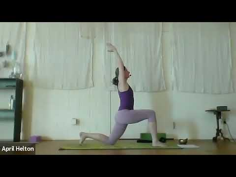yoga 25 june 1 includes side angle pose with bind eagle