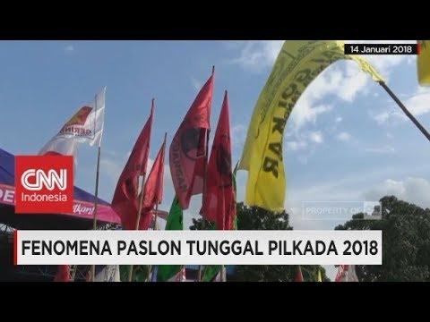 Fenomena Paslon Tunggal Pilkada 2018