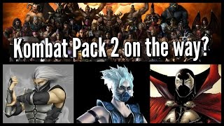 A 2nd Kombat Pack? Smoke, Frost & Spawn Out as DLC? - Mortal Kombat X