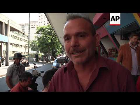 No escape from daily grind for Caracas residents