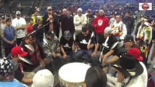 Battle Hill Singers Sing a Powerful Song @ FSIN Powwow 2015 - Stafaband