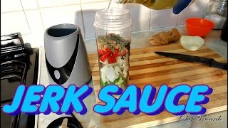 The Best Jamaican Jerk Sauce | Recipes By Chef Ricardo