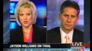 Court TV/Tru Tv: Jayson Williams murder, interview on Nancy Grace show w/ James R. Wronko