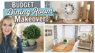 dining room organization