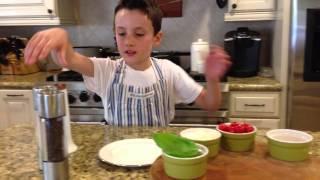 Chef Jaden Prepares Insalata Caprese