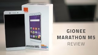 Gionee Marathon M5 Review in 90 Seconds