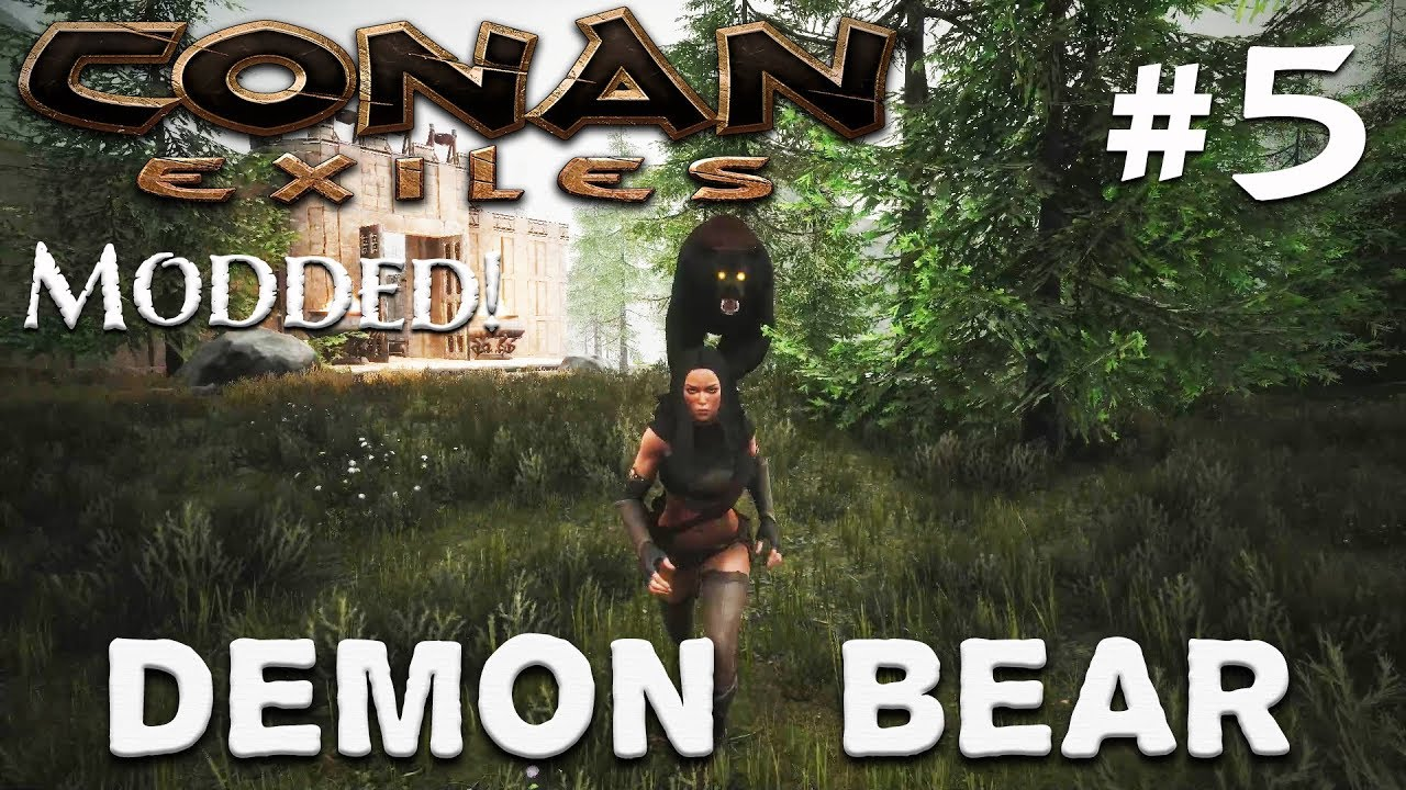 CONAN EXILES - Age of Calamitous - Demon Bear! #5 (Gameplay)
