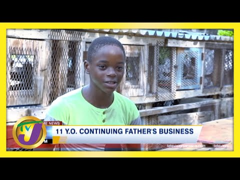 11 yr old Continues Father's Business | TVJ Ray of Hope
