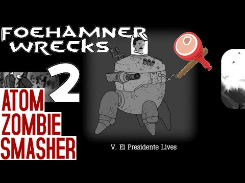 Atom Zombie Smasher - Let's Play Gameplay - Part 2 - Bombardment