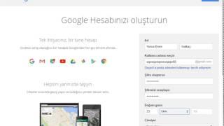 Gmail Hesabı Açma 2017 (SESLİ)