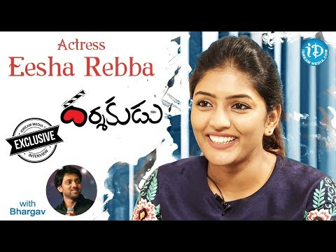 Darshakudu Actress Eesha Rebba Exclusive Interview || Talking Movies With iDream #459