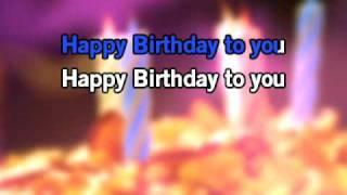 Traditional Happy Birthday