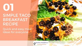 RECIPE OF THE WEEK: HΟW TO MAKE A HEALTHY TACO #roadto50
