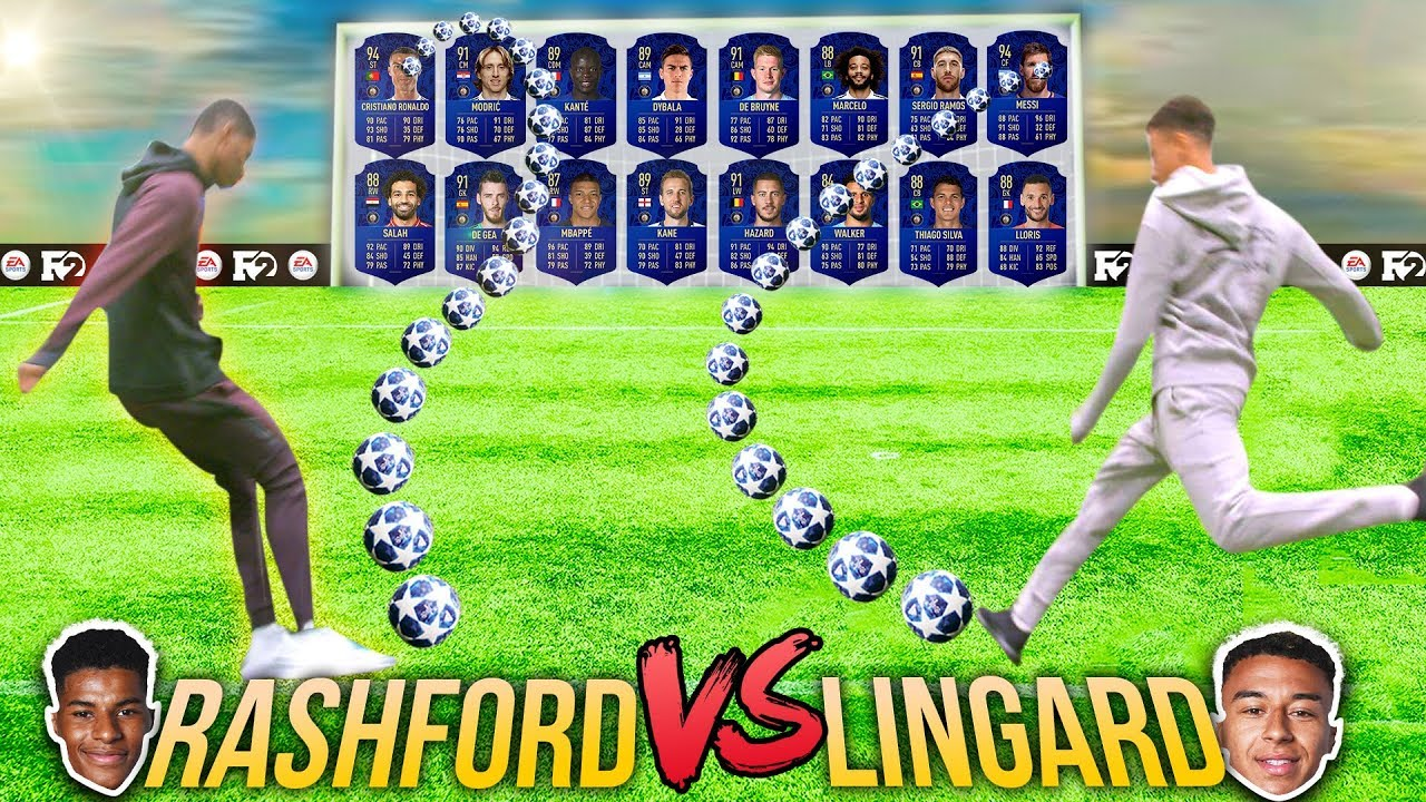 Download LINGARD VS RASHFORD   EXTREME FIFA 19 TOTY ULTIMATE TEAM BATTLE!
