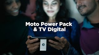#hellomoto | Moto Power Pack & TV Digital: seu companheiro de todas as horas