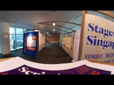 Script & Stage exhibition in 360°
