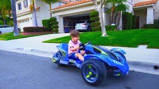 SENYA تفريغ السيارات الجديدة! مركبة ، دراجة صغيرة وسيارة بثلاث عجلات!