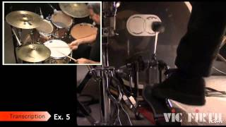 Drumset Lessons with John X: Bonham Bass Drum Triplets(In this lesson John X teaches you how to play several grooves that incorporate the technique often referred to as the Bonham Bass Drum Triplets. Purchase a ..., 2013-10-21T18:24:05.000Z)