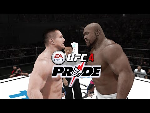 UFC 4 WISH LIST:  BRING BACK PRIDE! (Watch Me Fight In Pride Mode! Simply Hilarious!)