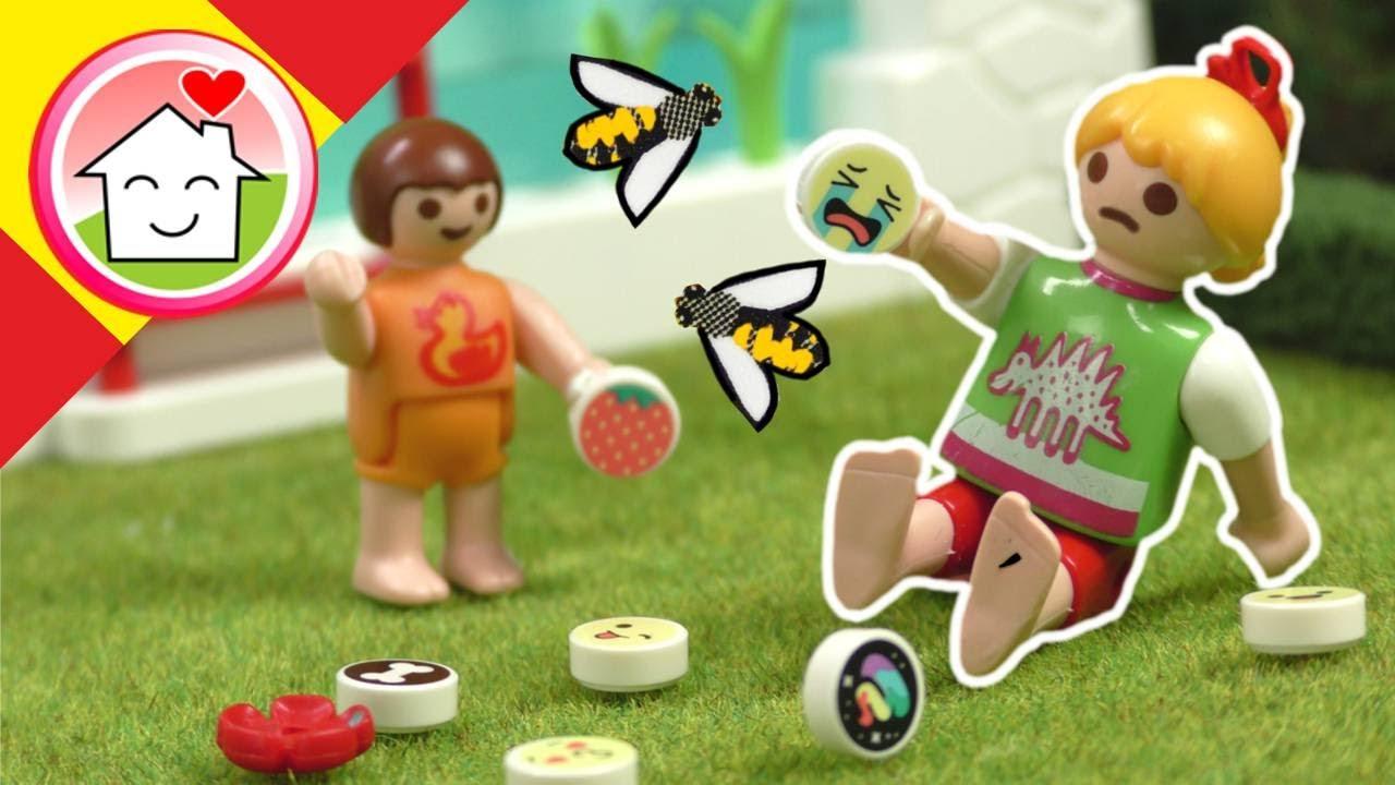 Playmobil en español La picadura de abeja - La Familia Hauser