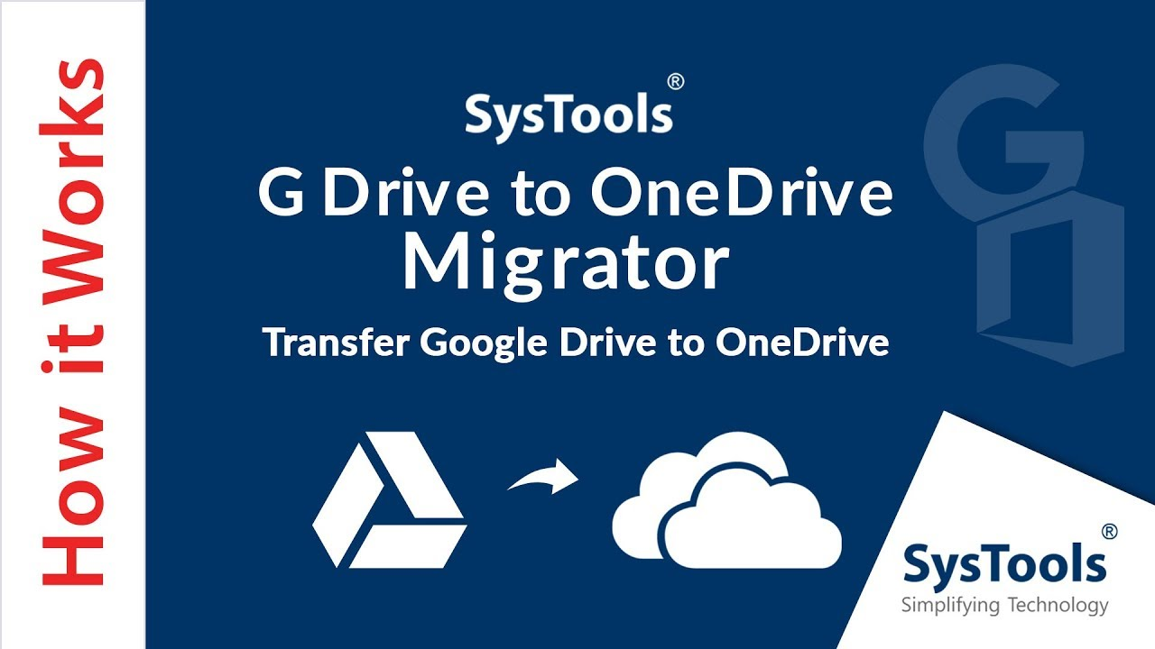 Google Drive to OneDrive Migration Tool – Move G Drive Data to OneDrive